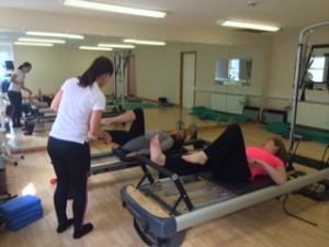 2 : 1 Pilates Reformer Classes